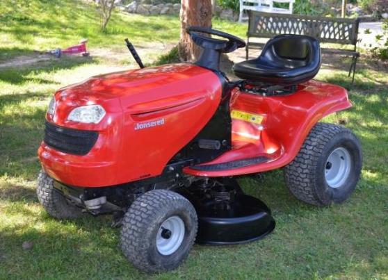 tracteur tondeuse jonsered 15 cv jardin