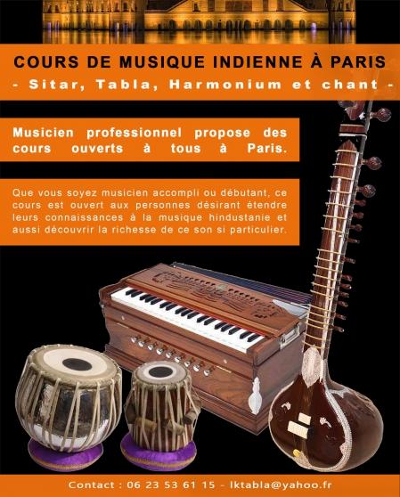 cours de harmonium indien à paris - Annonce gratuite marche.fr