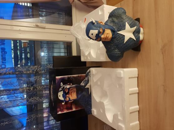 Annonce occasion, vente ou achat 'Buste captain america sideshow'