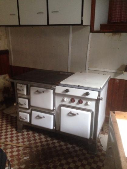 Cuisinière bois électrique gaz