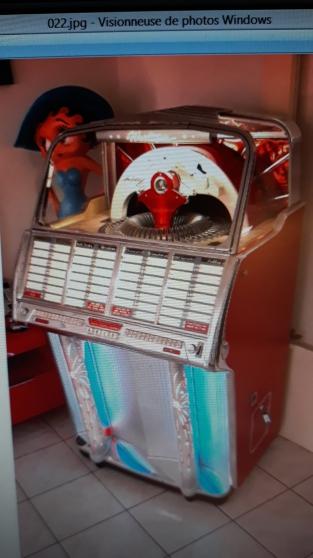 Annonce occasion, vente ou achat 'Jukebox WURLITZER 1800'