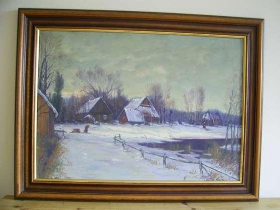 Annonce occasion, vente ou achat 'Tableau paysage'
