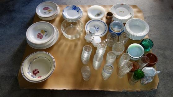 Lot de vaisselle divers
