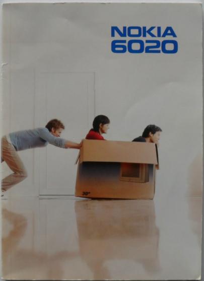 Annonce occasion, vente ou achat 'Manuel d utilisation portable NOKIA 6020'