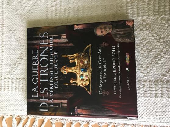 Annonce occasion, vente ou achat 'livre la guerre des Trones'