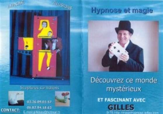 ANIMATION DE MAGIE ET D\'HYPNOSE - Photo 2