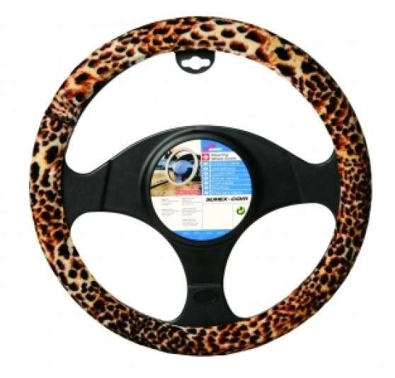 1 couvre volant léopard