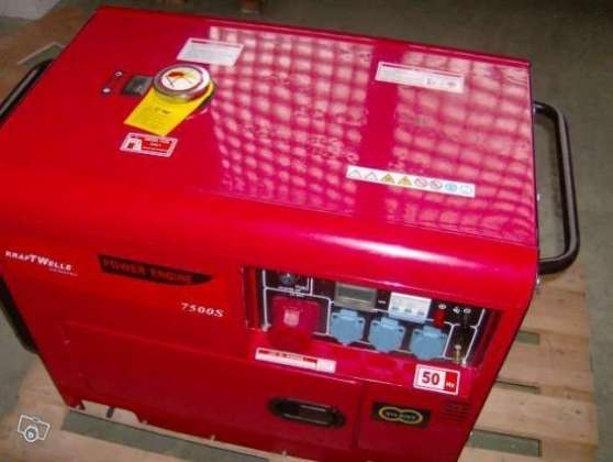 G n rateur d lectricit group 7500w nou villeneuve d for Generateur d electricite prix