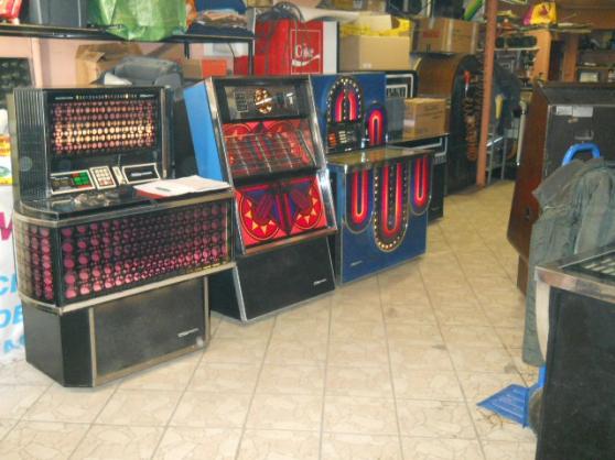 Annonce occasion, vente ou achat 'juke box locations réparations dépannag'