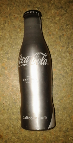 bouteille de coca cola daft punk silver - Annonce gratuite marche.fr