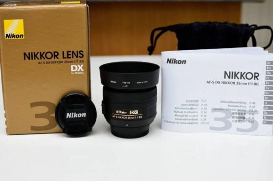 Objectif Nikon DX 35mm