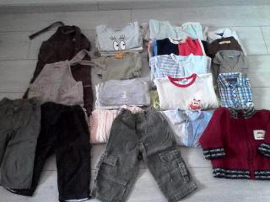 vêtements garçon 6 mois à 2 ans