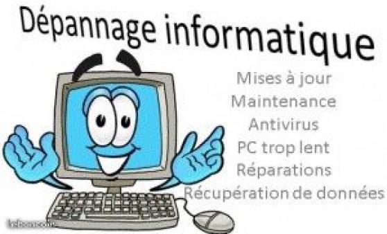 Annonce occasion, vente ou achat 'Réparation et maintenance informatique'