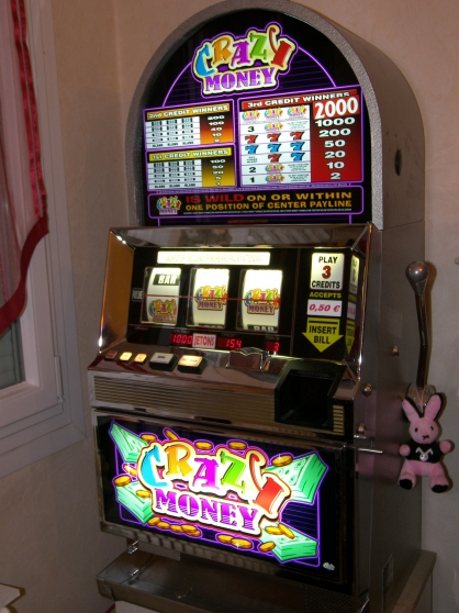 machine a sous crazy money - Annonce gratuite marche.fr