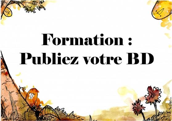 PUBLIEZ VOTRE BD // FORMATION EN LIGNE