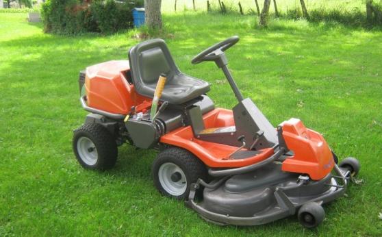Annonce occasion, vente ou achat 'Tracteur tondeuse auto-portée Husqvarna'