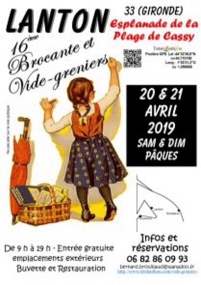 16° brocante et vide-greniers de pâques - Annonce gratuite marche.fr
