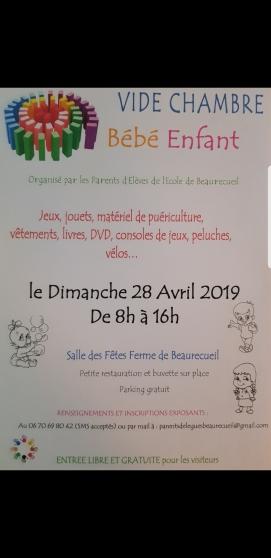 Annonce occasion, vente ou achat 'Vide chambre bébé enfant Beaurecueil'