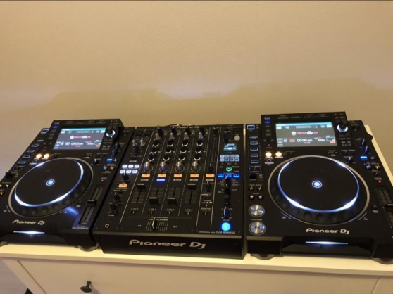 Annonce occasion, vente ou achat 'Pack Pioneer 2 CDJ 2000 + 1 DJM900 NXS2'