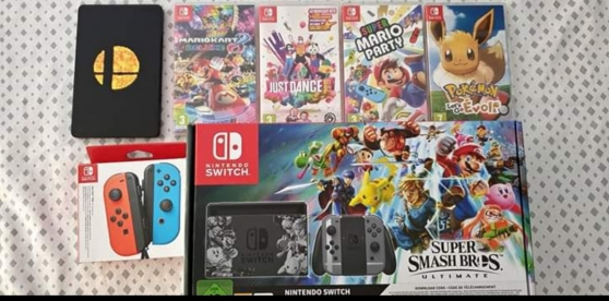 Nintendo switch neuve (envoi)