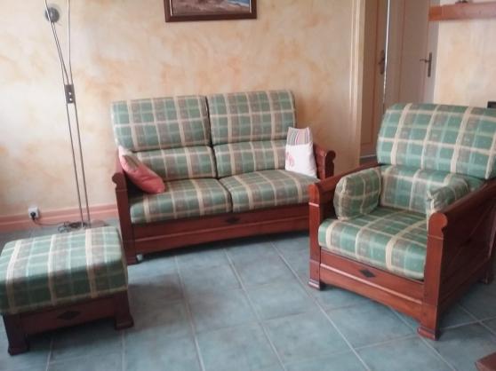 Canapé et un fauteuil