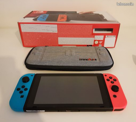 Nintendo Switch - Etat parfait - Sacoche