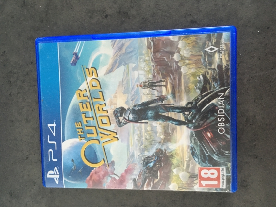 VENDS JEUX PS4 OUTER WORLD