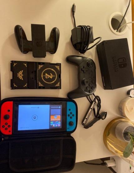 Annonce occasion, vente ou achat 'Console Switch très bon état'