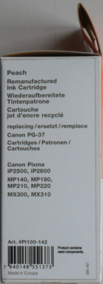 PG37 - Cartouche Compatible Canon Pixma - Photo 3