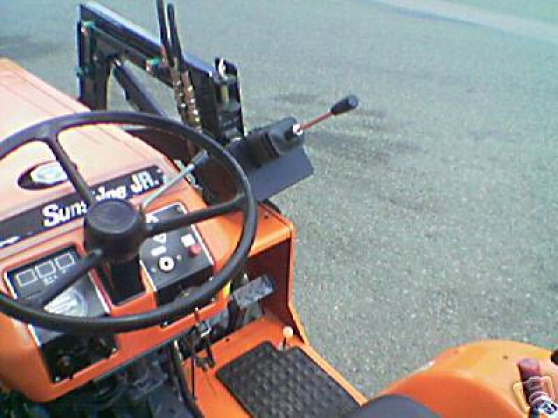 Tracteur kubota,chargeur,pelle retro - Photo 2