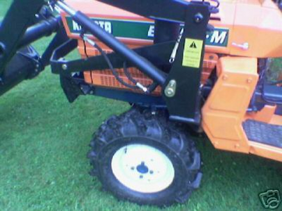 Tracteur kubota,chargeur,pelle retro - Photo 3