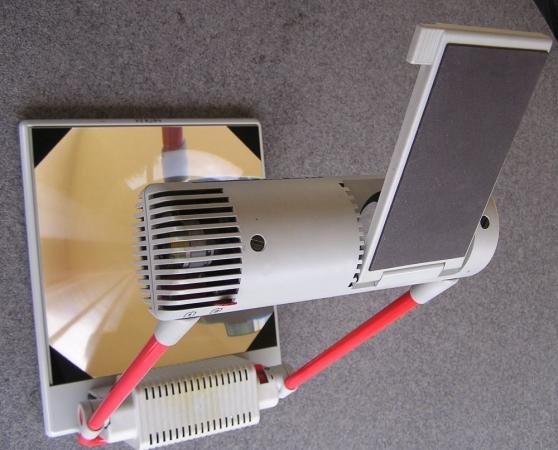 Rétroprojecteur portable à transparents