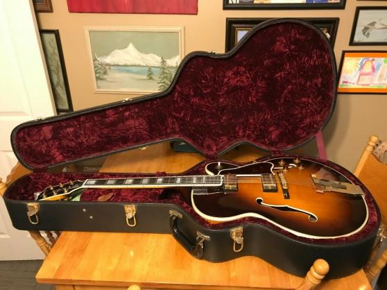 Annonce occasion, vente ou achat 'Gibson Custom Shop L-5 CES Sunburst'