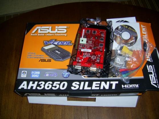Carte Graphique Asus AH3650 Silent 512Mo