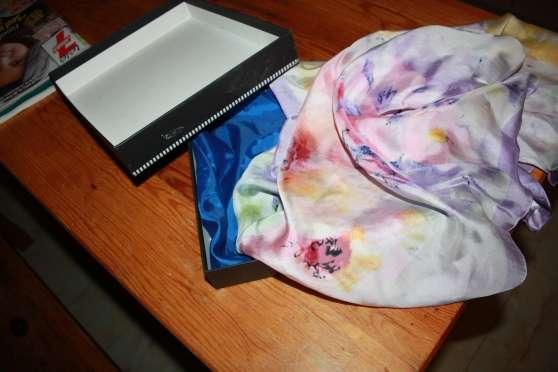 foulard en soie neuf
