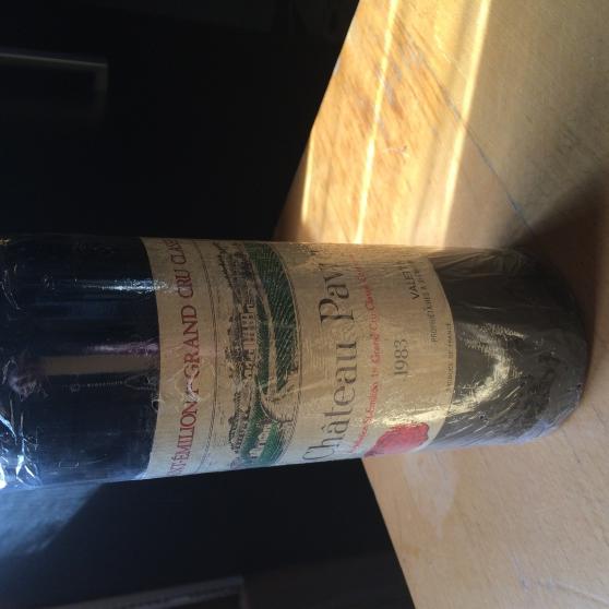 Annonce occasion, vente ou achat 'Château PAVIE 1983'