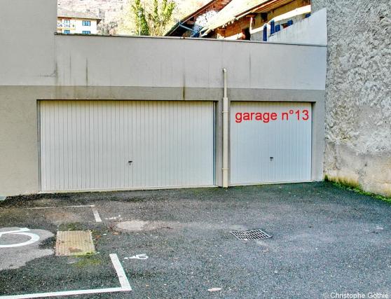 Loue grand garage au centre du Bourget