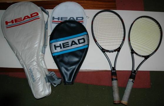 Annonce occasion, vente ou achat 'raquettes de tennis head'