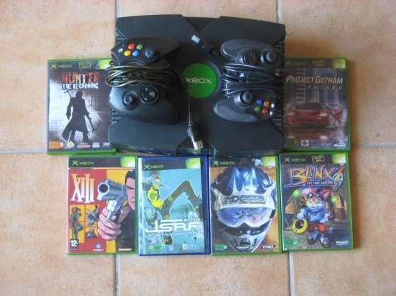 Annonce occasion, vente ou achat 'console X Box + 2 manettes + 6 jeux'