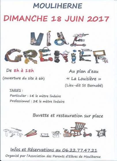 vide grenier - Annonce gratuite marche.fr