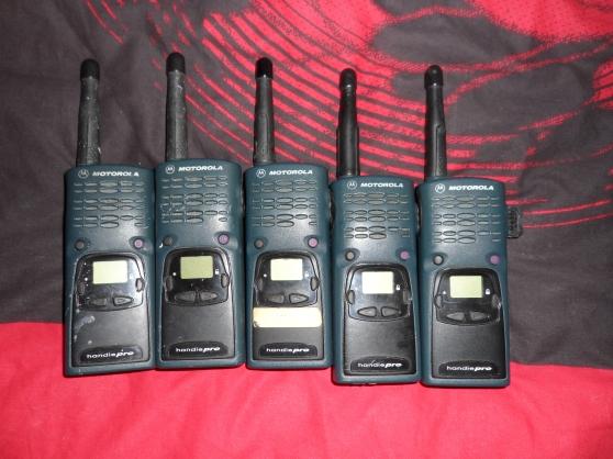 Annonce occasion, vente ou achat 'talkie walkie motorola handie pro'
