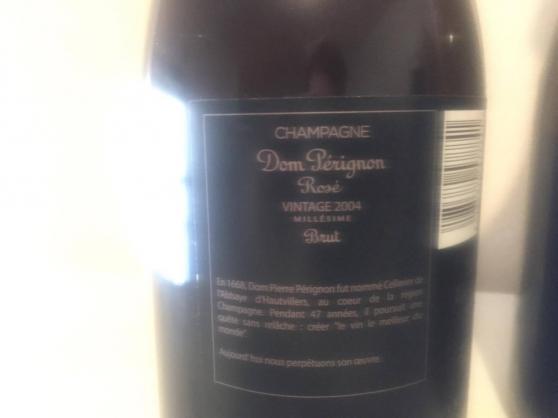 2 bout champagne rosé Dom Perignion 2004 - Photo 2