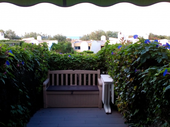 Annonce occasion, vente ou achat 'Studio cabine rèz de jardin vue sur mer'