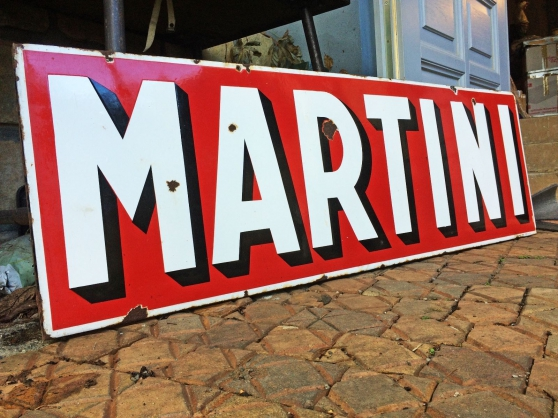 Plaque émaillée Martini - Photo 2