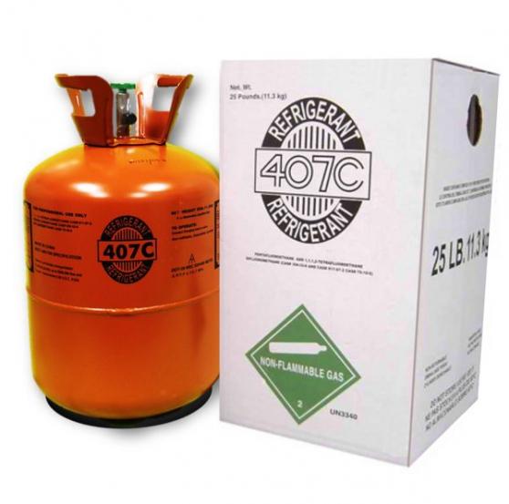 Annonce occasion, vente ou achat 'R407C 11.3 kg Gaz Réfrigérant'