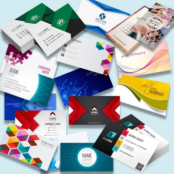 500 cartes visite-Création impression