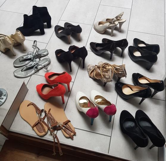 Annonce occasion, vente ou achat 'Lot de 14 paire de chaussures T41'