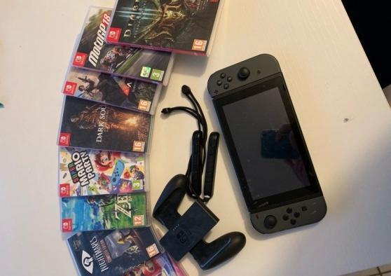 Annonce occasion, vente ou achat 'Nintendo switch compète et 7 jeux'