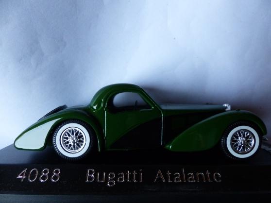 Annonce occasion, vente ou achat 'BUGATTI et LANCIA solido 1/43ème'