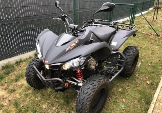 Quad Kymco Maxxer 450 iSE